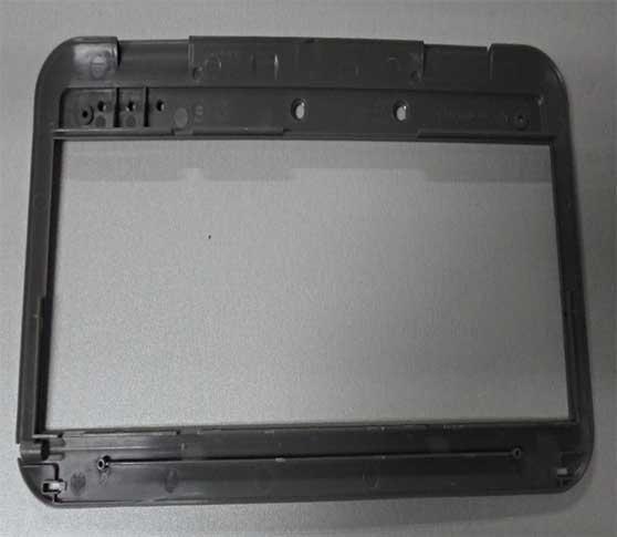 Plastic 2D / 3D Drawings ABS Window Bezel DME Injection Molding Molds